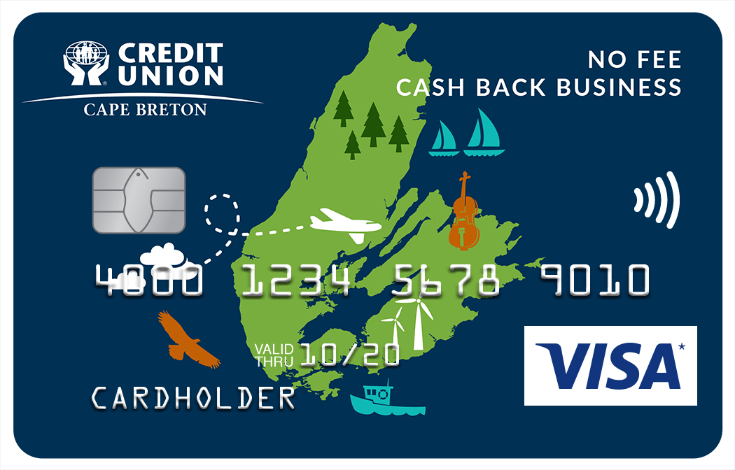 Cape breton credit union business credit cards the smart way to make the most of your companys purchases no annual fee 199 reheart Gallery
